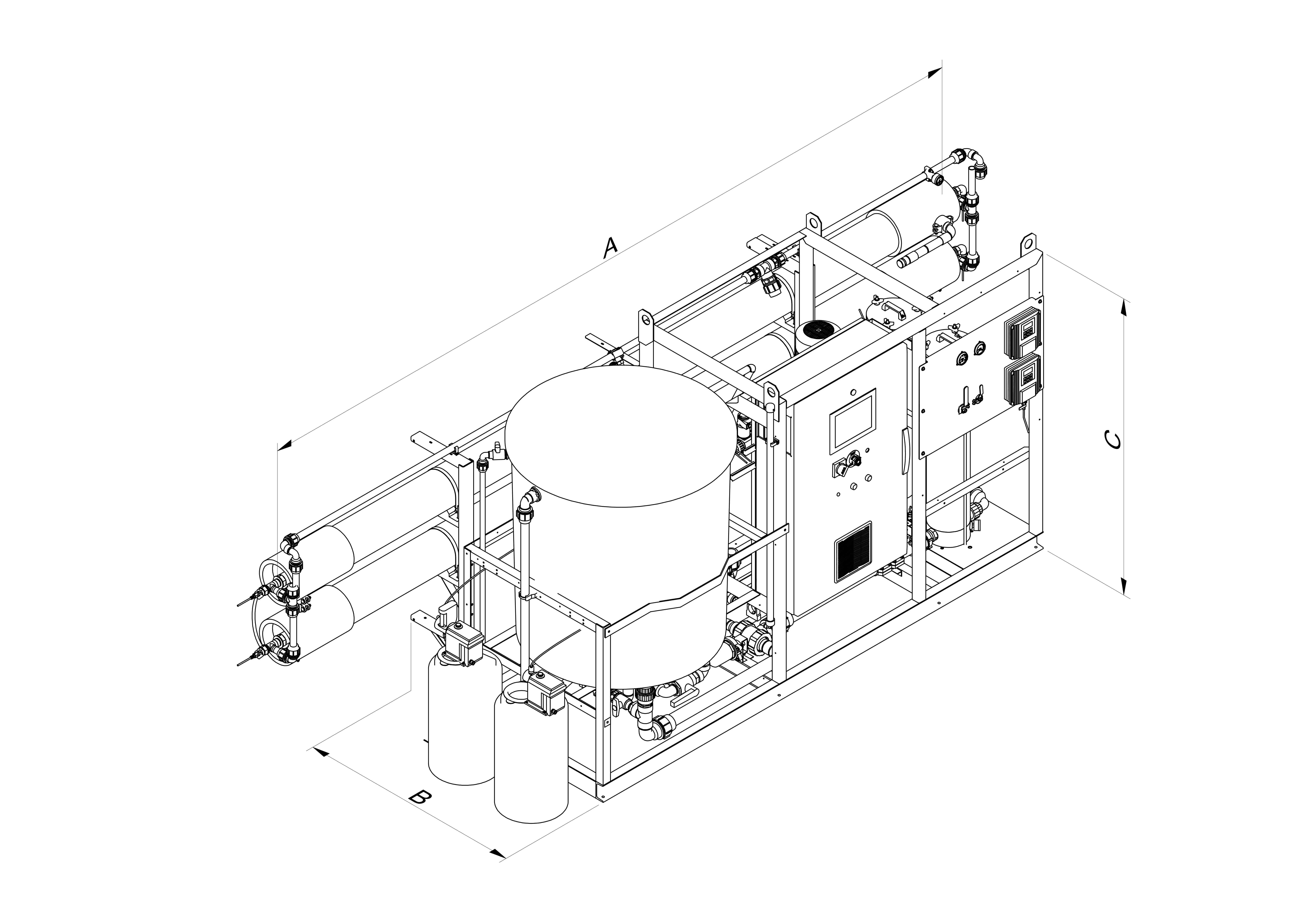 slce-watermakers_gbw_encombrement